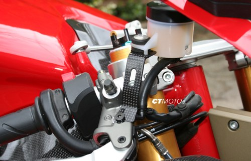 Ducati 848 Carbon Fiber Fairings Motorcycle Image Idea